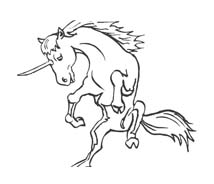 Unicorno da colorare 54