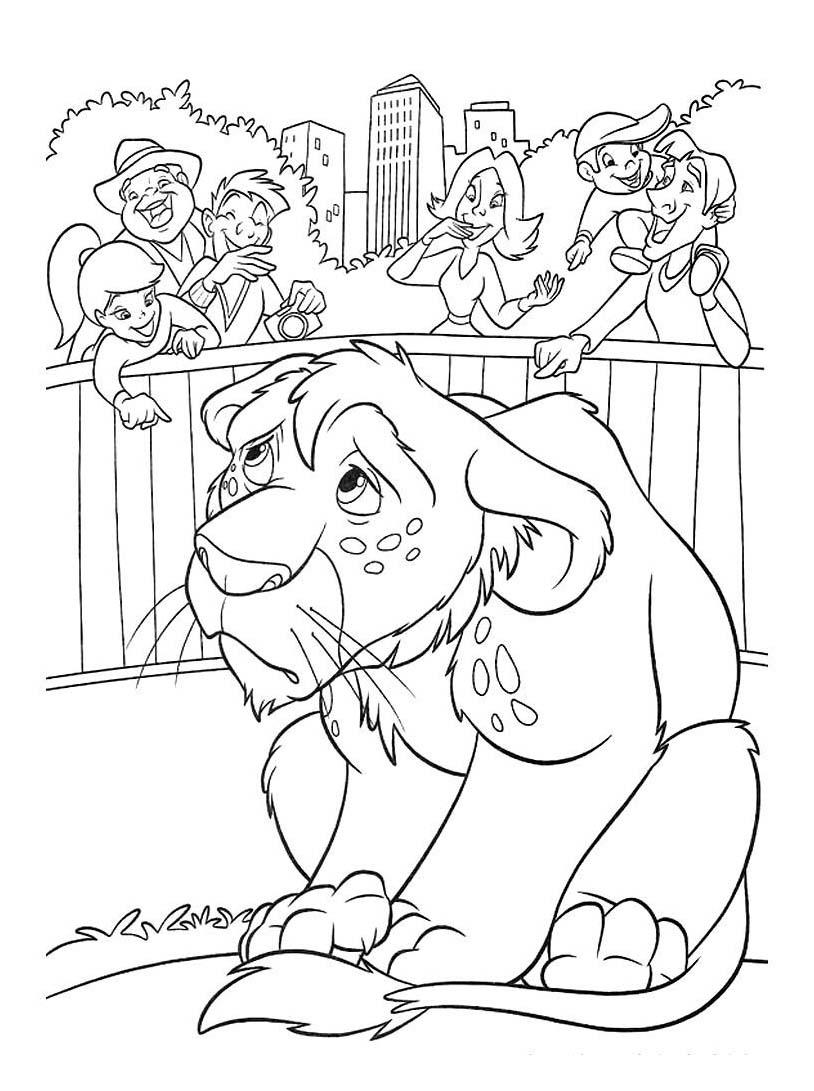 - Zoo animali da colorare ...
