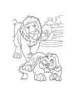 Uno zoo in fuga da colorare 13