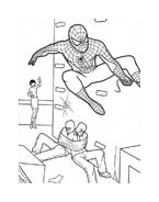 Spiderman da colorare 179