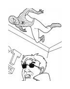 Spiderman da colorare 204