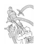 Spiderman da colorare 206