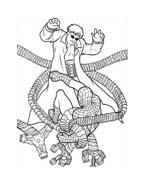 Spiderman da colorare 207