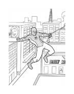 Spiderman da colorare 214
