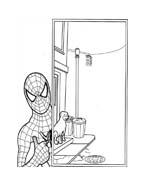 Spiderman da colorare 216