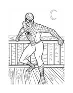 Spiderman da colorare 217