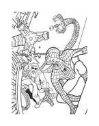 Spiderman da colorare 222