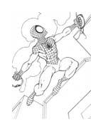 Spiderman da colorare 229