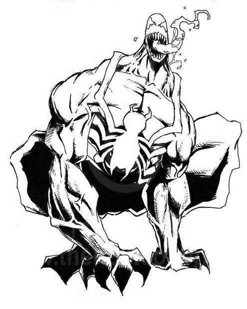 Venom da colorare 3