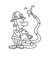 Pompiere da colorare 40
