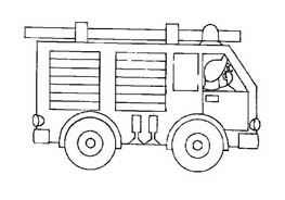 Pompiere da colorare 42