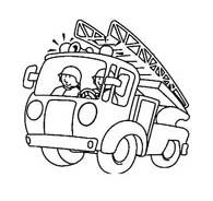 Pompiere da colorare 47