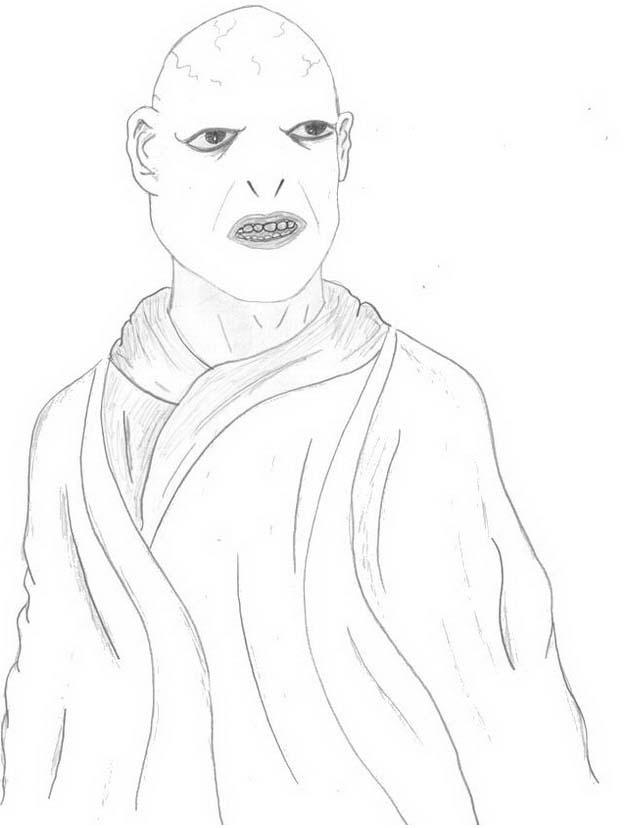 Harry potter da colorare 159
