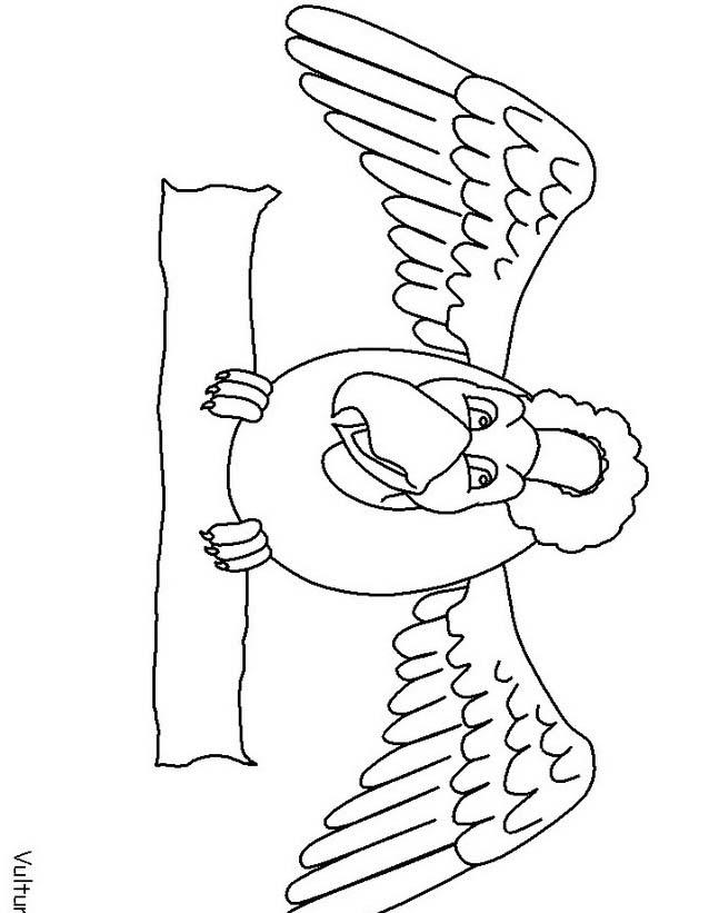 Uccello da colorare 387