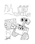 WALL-E da colorare