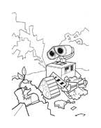 WALL-E da colorare 2