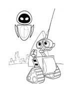 WALL-E da colorare 4