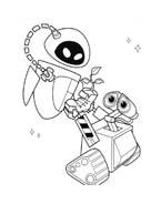 WALL-E da colorare 12