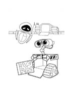 WALL-E da colorare 15