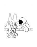 WALL-E da colorare 16