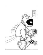 WALL-E da colorare 54