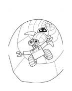 WALL-E da colorare 66