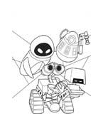 WALL-E da colorare 70