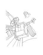 WALL-E da colorare 80