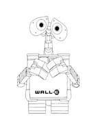 WALL-E da colorare 86
