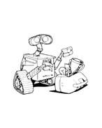 WALL-E da colorare 90