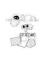 WALL-E da colorare 93