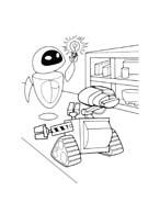 WALL-E da colorare 97
