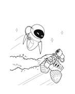 WALL-E da colorare 111