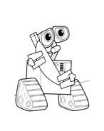 WALL-E da colorare 116