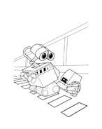 WALL-E da colorare 124
