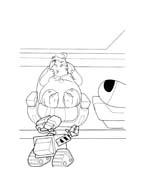 WALL-E da colorare 125