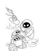 WALL-E da colorare 135