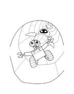WALL-E da colorare 149