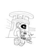 WALL-E da colorare 157