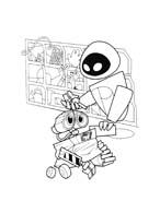 WALL-E da colorare 160