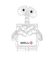 WALL-E da colorare 164