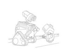 WALL-E da colorare 166