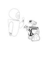 WALL-E da colorare 168