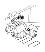 WALL-E da colorare 204