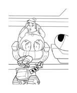 WALL-E da colorare 205