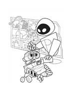 WALL-E da colorare 236