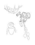 WALL-E da colorare 240