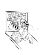 WALL-E da colorare 243