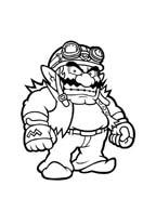 Mario bros da colorare 77