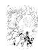 Winnie pooh da colorare 87